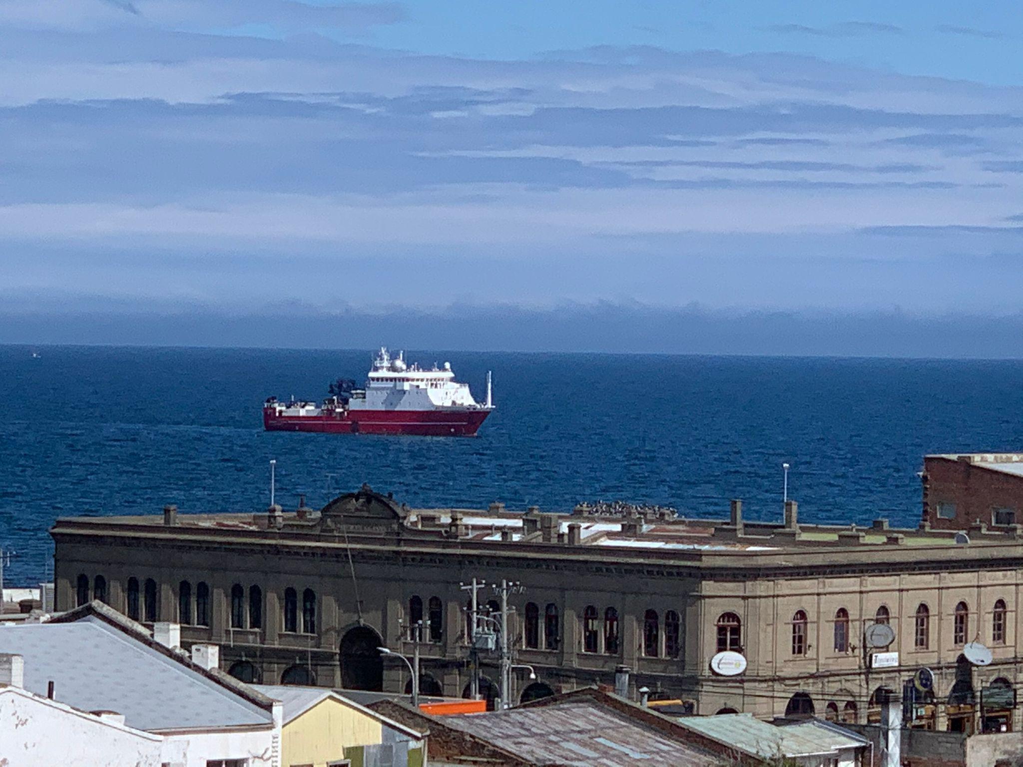 El 'Sarmiento de Gamboa' parte hacia la Antártida para participar en la XXXIV Campaña Antártica Española