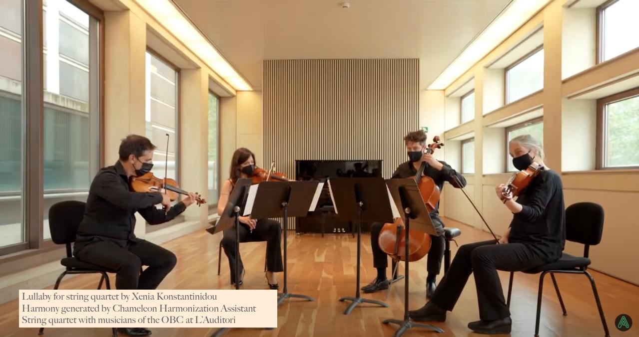Cuarteto de cuerda músicos OBC