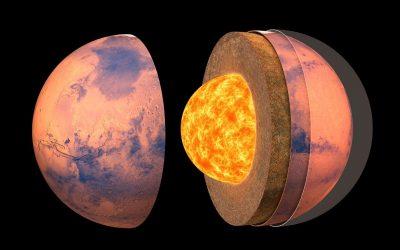 Un estudio sísmico confirma que Marte tiene un núcleo líquido y metálico