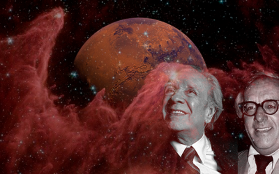 """Marte, Bradbury, Borges"" de Pedro Meseguer (IIIA-CSIC)"